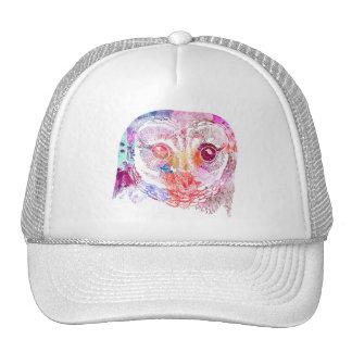 Gorra blanca - diseño de Buho