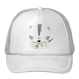 Gorra blanco de Cub de tigre