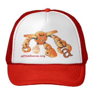 Gorra blanco del frente ARTSI