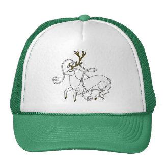 Gorra blanco del macho