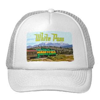 Gorra blanco del paso