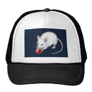 Gorra blanco del ratón