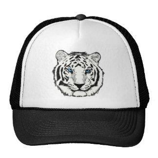 Gorra blanco del tigre
