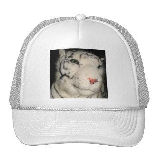 Gorra blanco del tigre 1
