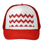 Gorra blanco rojo de los galones