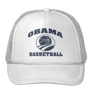 Gorra blanco superior del baloncesto de Obama