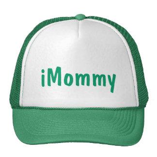 gorra blanco verde iMommy de la mamá del día de ma