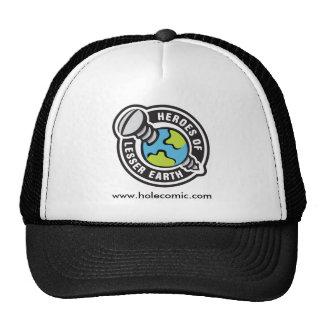 Gorra blanco y negro del camionero
