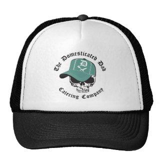 Gorra blanco y negro del camionero de TDD