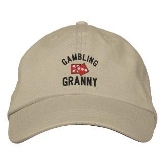 Gorra bordado abuelita de juego gorra bordada