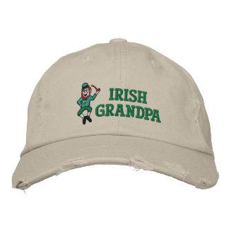 Gorra bordado abuelo irlandés gorras bordadas