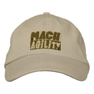 Gorra bordado agilidad del perro del MACH Gorras Bordadas