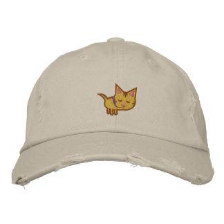 Gorra bordado amante del gato gorra de béisbol bordada