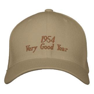 Gorra bordado año muy bueno 1954 gorros bordados