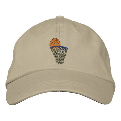 Gorra bordado baloncesto gorras bordadas