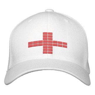 Gorra bordado bandera 1 de Inglaterra Gorra De Béisbol Bordada