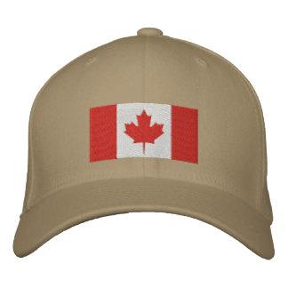 Gorra bordado bandera canadiense gorros bordados