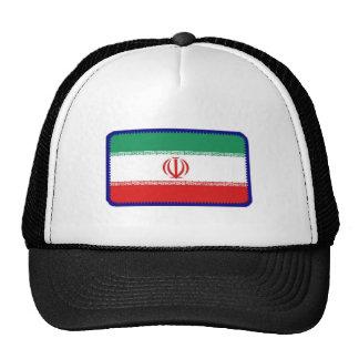 Gorra bordado bandera del efecto de Irán
