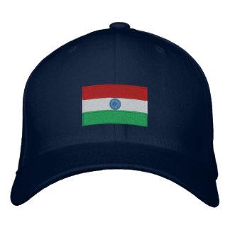Gorra bordado bandera del flexfit de la India Gorra De Béisbol
