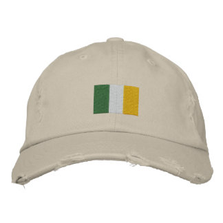 Gorra bordado bandera irlandesa gorra de beisbol