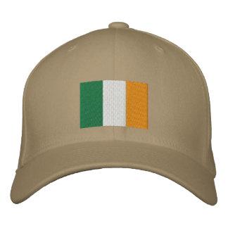 Gorra bordado bandera irlandesa gorras de beisbol bordadas