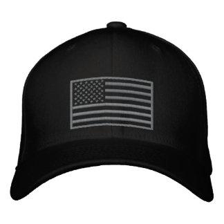 Gorra bordado bandera sometido de los E E U U de Gorra De Beisbol Bordada