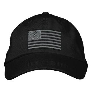 Gorra bordado bandera sometido de los E.E.U.U. (ne Gorra Bordada