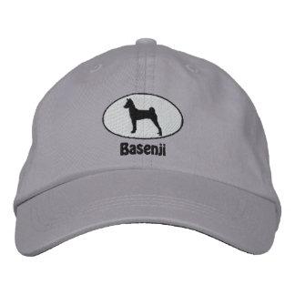 Gorra bordado Basenji oval Gorras De Béisbol Bordadas