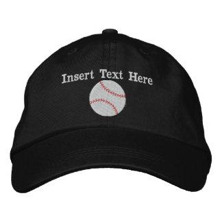 Gorra bordado béisbol gorra de béisbol bordada