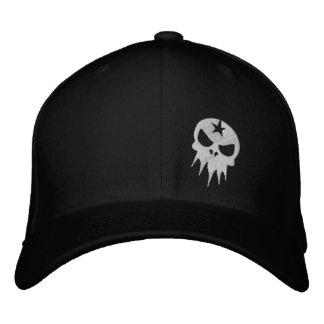 Gorra bordado cabido del cráneo gorros bordados