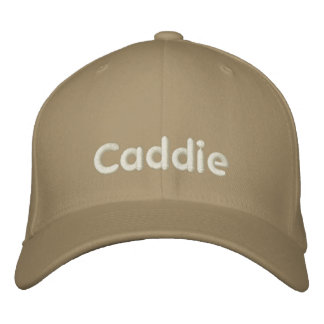 Gorra bordado caddie gorras de béisbol bordadas