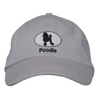 Gorra bordado caniche gorra de beisbol