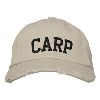 Gorra bordado carpa gorras de béisbol bordadas