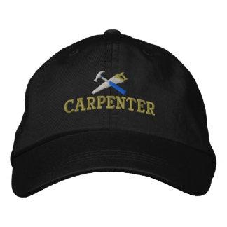 Gorra bordado carpintero gorras de béisbol bordadas