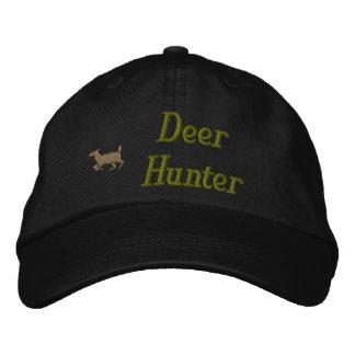 Gorra bordado cazador de los ciervos gorras de béisbol bordadas