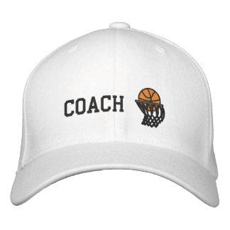 Gorra bordado coche de los aros de baloncesto gorra de beisbol