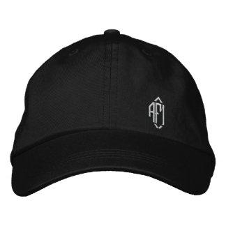 Gorra bordado con monograma de las señoras gorra de beisbol