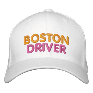 Gorra bordado conductor de Boston Gorras Bordadas