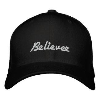 Gorra bordado creyente gorra de béisbol