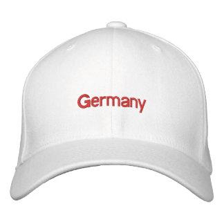 Gorra bordado de Alemania Gorra De Béisbol