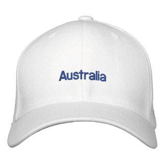 Gorra bordado de Australia Gorra De Beisbol