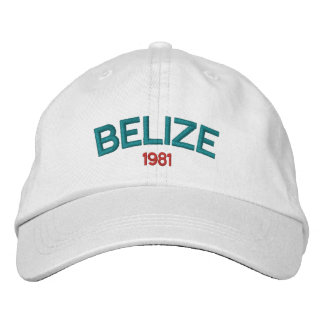 Gorra bordado de Belice 1981 Gorra De Beisbol