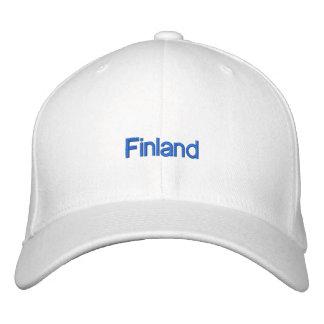 Gorra bordado de Finlandia Gorra Bordada