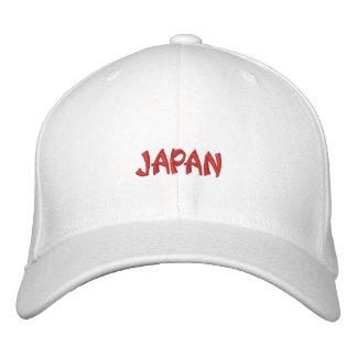 Gorra bordado de Japón Gorra De Beisbol