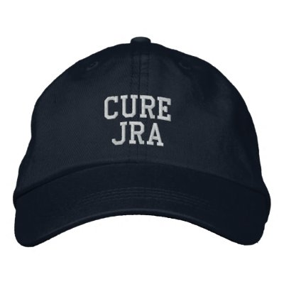 "Gorra bordado de la ""curación JRA"" - Gorras Bordadas"