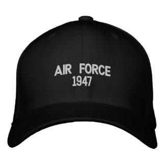 Gorra bordado de la fuerza aérea 1947 gorras bordadas