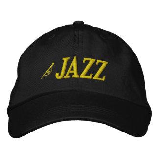 Gorra bordado de la música de jazz gorros bordados