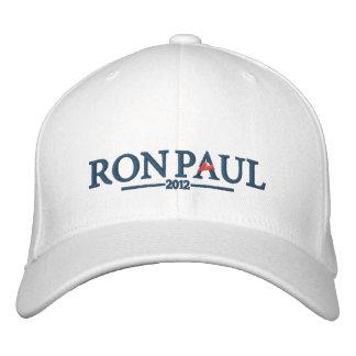 Gorra bordado de Ron Paul 2012 Gorra De Beisbol
