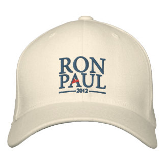 Gorra bordado de Ron Paul 2012 Gorro Bordado