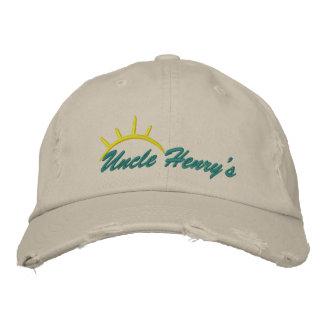 Gorra bordado de tío Henry Gorra De Béisbol